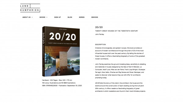 Contemporary Architecture 20 20 Houses Publication jpa