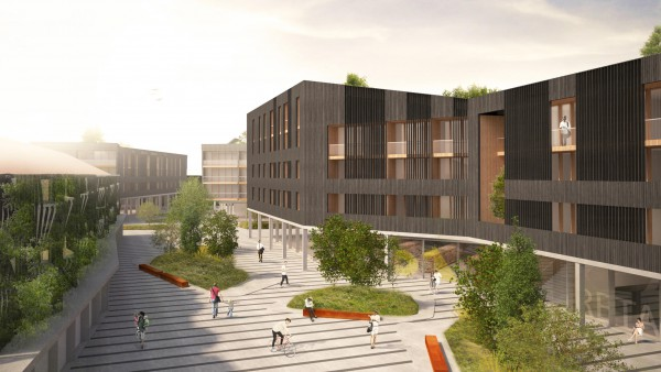 Contemporary Architecture Masterplanning Skovlunde 03 jpa