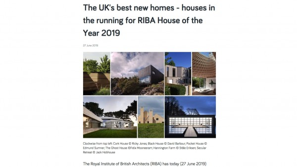 Contemporary Architecture One Off House of the Year Publicity jpa copy