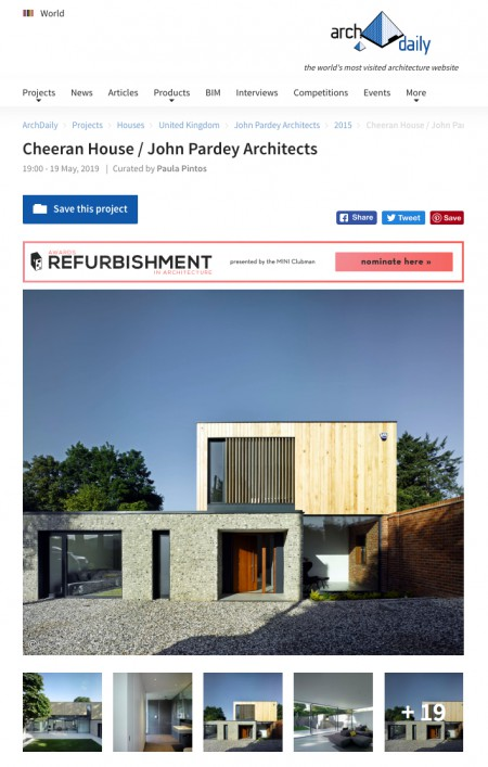Contemporary Architecture One Off Houses Cheeran House Publicity jpa