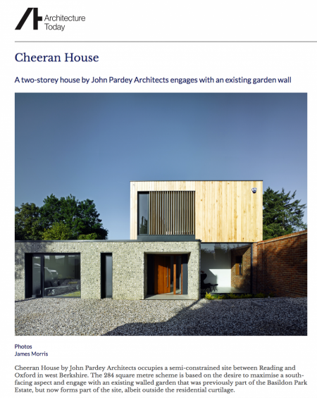SetWidth900 Contemporary Architecture One off Houses Cheeran Architecture Today