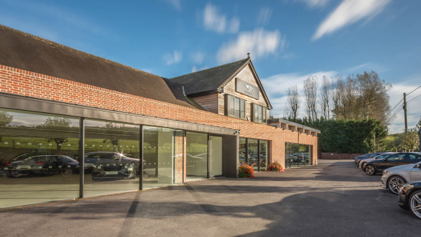Contemporary Architecture Commercial Bentley Hampshire 3a jpa
