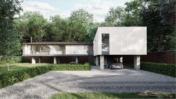 Contemporary Architecture One off Houses Williamson House 01 jpa v2