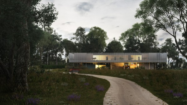 Contemporary Architecture One off Houses The Aviary 01 jpa